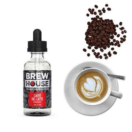 BREW HOUSE CAFFE DEL LATTE(カフェラテ) 60ml