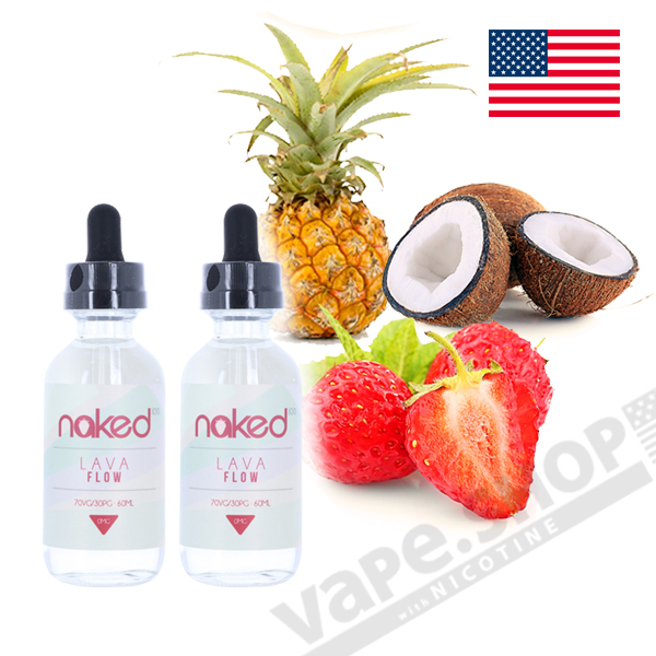 Naked100 Lava Flow 60ml 2本セット
