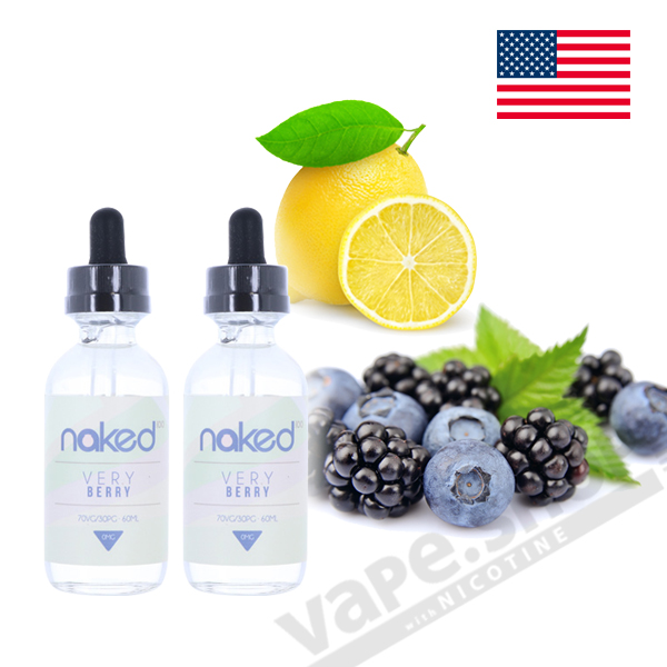 Naked100 Very Berry 60ml 2本セット