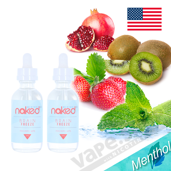 Naked100 Menthol Brain Freeze 60ml 2本セット