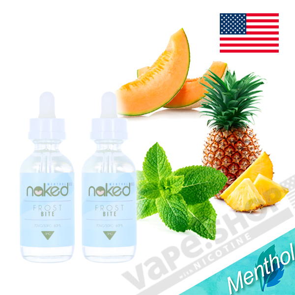 Naked100 Menthol フロストバイト 60ml 2本セット