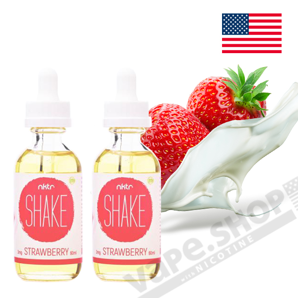 nktr SHAKE STRAWBERRY 60ml 2本セット