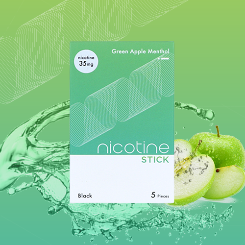 NICOTINE STICK / Green Apple Menthol 35mg (808D-GAM-3.5)