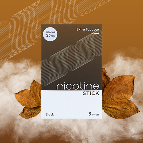 NICOTINE STICK / EXTRA TOBACCO 35mg (808D-ET-3.5)
