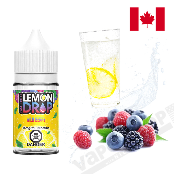 Lemon Drop Salt Wild Berry 30ml
