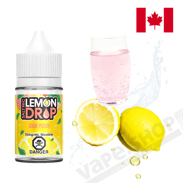Lemon Drop Salt Sour Peach 30ml