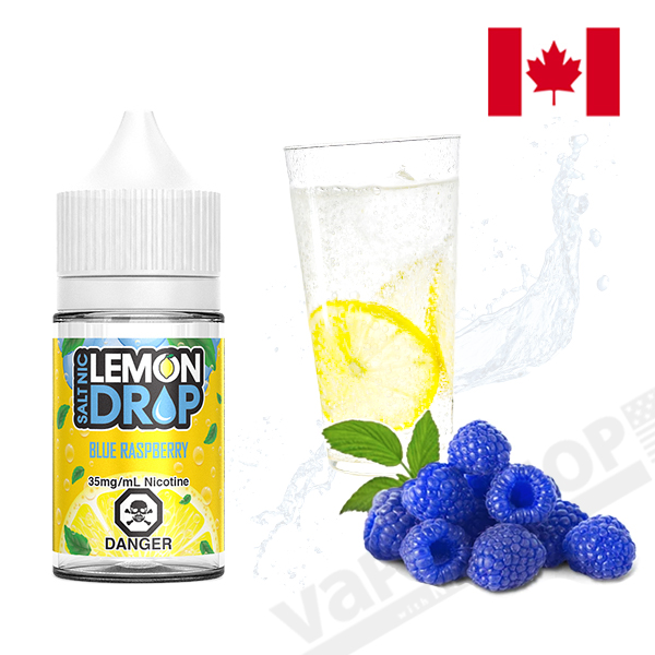 Lemon Drop Salt Blue Raspberry 30ml