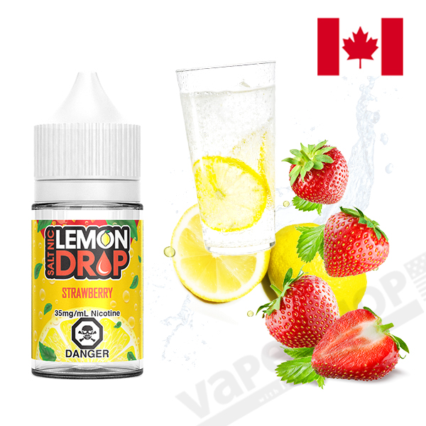 Lemon Drop Salt Strawberry 30ml