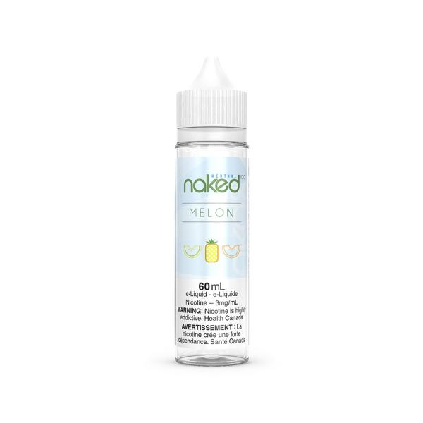 【Naked100 Menthol ネイキッド100 メンソール】 メロン (フロストバイト) 60ml