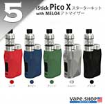 Eleaf iStickPicoX with Melo4 kit
